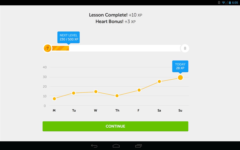 apprendre une langue  u00e9trang u00e8re avec duolingo