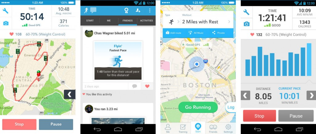 RunKeeper-screenshots