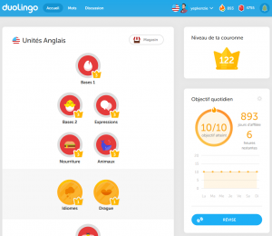 progression duolingo