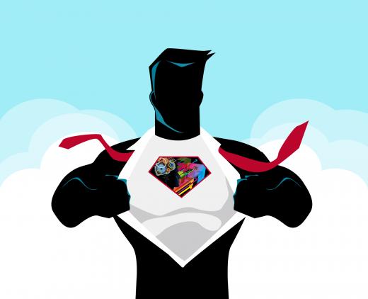 Image superman se-realiser