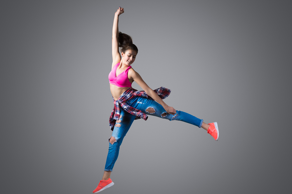 Danseuse qui saute