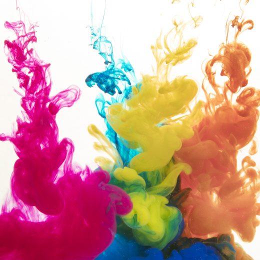 Encres de couleur
