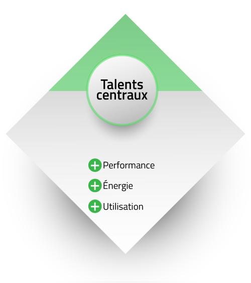 Résumé talents centraux