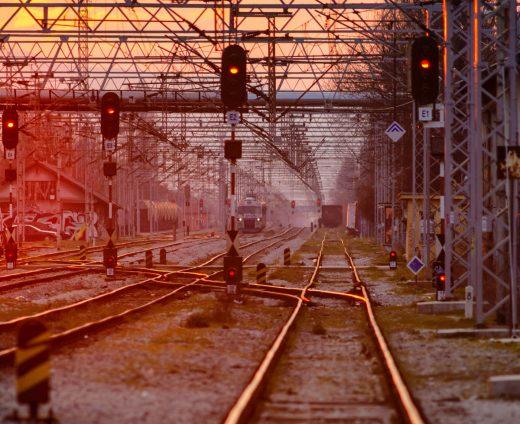 Chemins de fer et feux de circulation