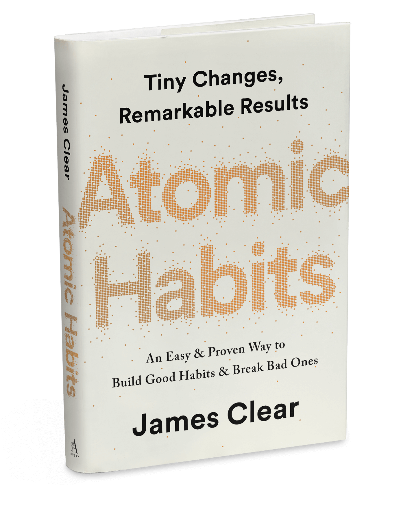 "Livre ""Atomic Habits"" de James Clear"