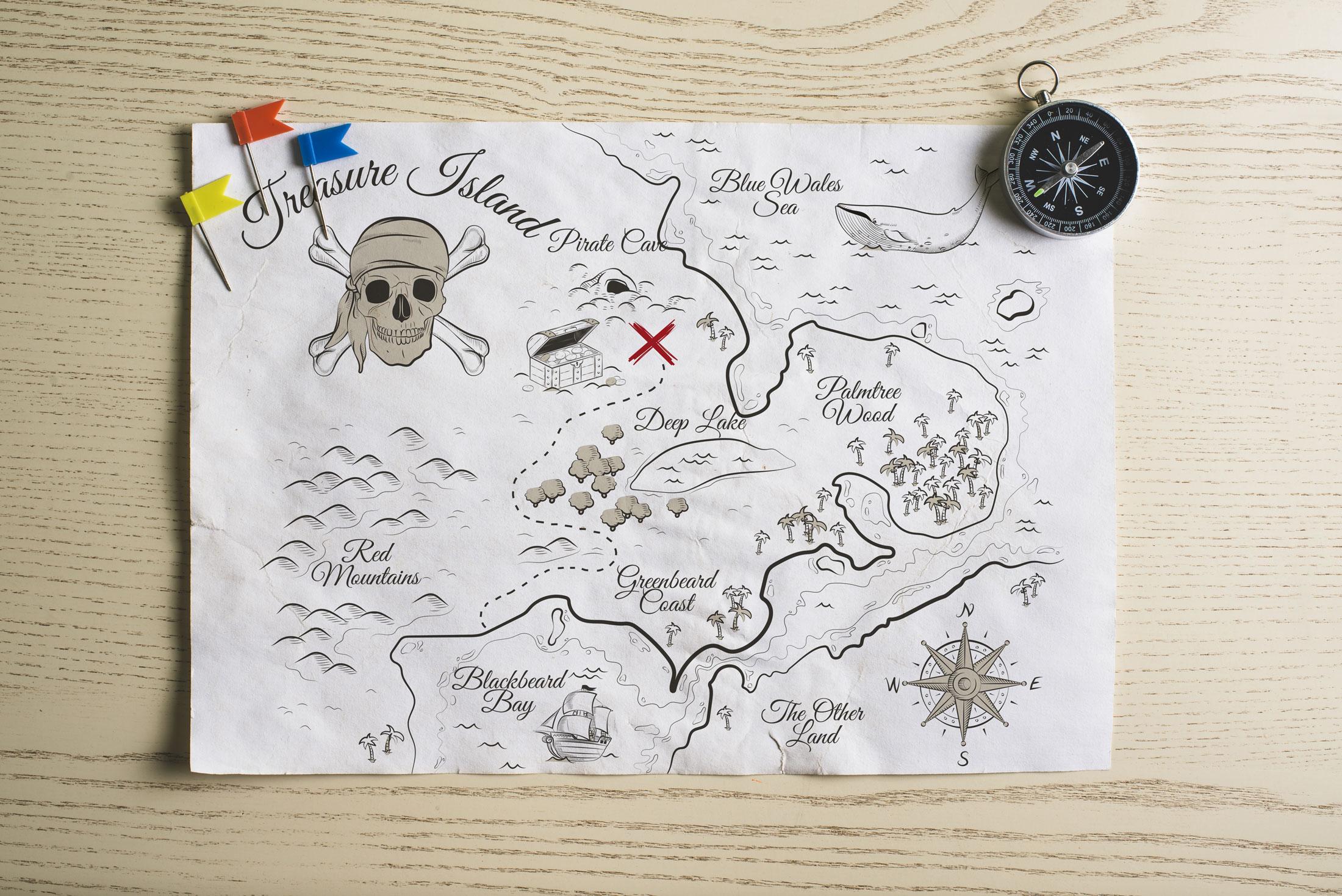 La technique de la carte au trésor pour atteindre vos ...