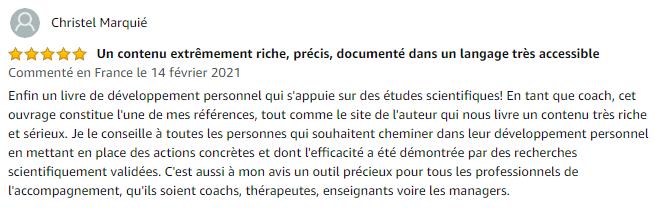 Avis de Christel M sur Amazon.fr