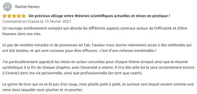 Avis de Rachel H. sur Amazon.fr